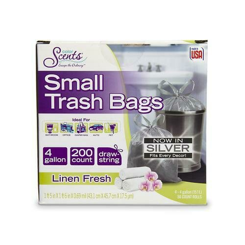 Color Scents Small Trash Bags 200 ct