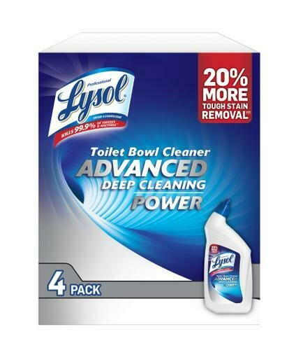Lysol Toilet Cleaner 4 pk/32 oz