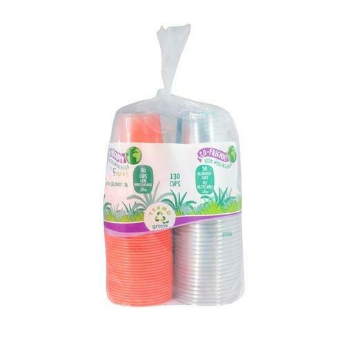 Termogreen Plastic Cups 130 units/16 oz