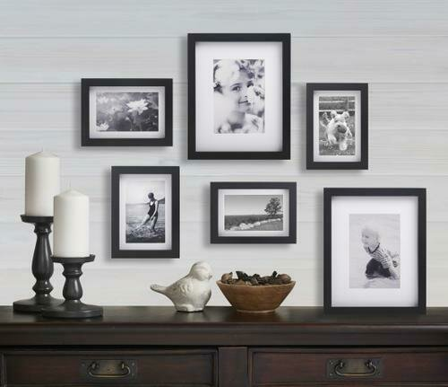 Old Town 6pc Shadow Box Gallery Frames