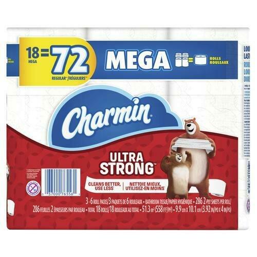 Charmin Ultra Strong 18 ct/286 sheets