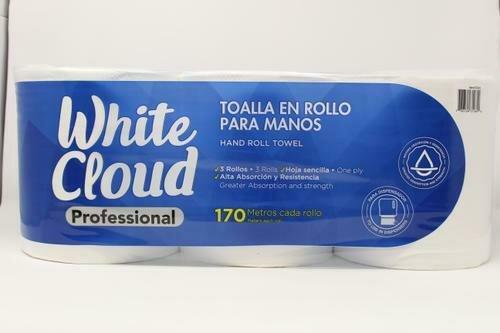 White Cloud Institucional Paper Towels 3 units/170 meters