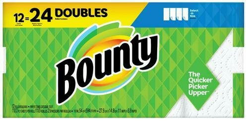 Bounty Select-A-Size  12 ct/110 sheets