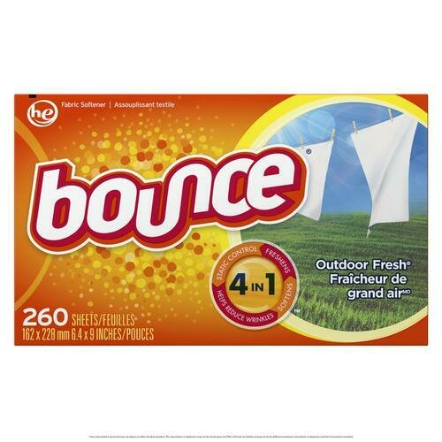Bounce Outdoor Fresh Dryer sheets 260 sheets