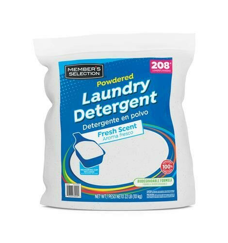 Member's Selection Powdered Laundry Detergent 10 kg / 22 lb