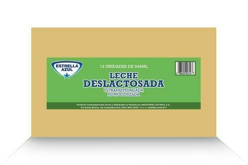 Estrella Azul 2% Milk De-Lactose Fat 12 units/946 ml