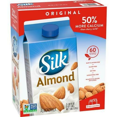 Silk Almond Milk 2 pk /1.89 l / 64 oz