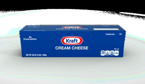 Kraft Cream Cheese 1.3 kg / 3 lb