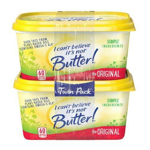 I Can't Believe It's Not Butter Margarine, 2 Pack / 850 g / 1.8 lb