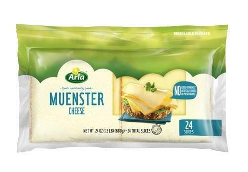 Arla Sliced Muenster Cheese 680 g / 24 oz