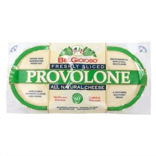 Belgioioso Provolone Sliced Mild 680 g / 24 oz