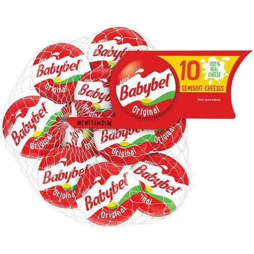 Bel Babybel Semisoft Cheese 10 Pack / 21.3 g / 0.7 oz