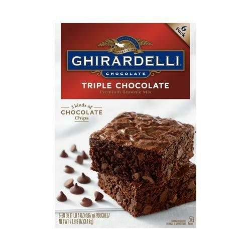 Ghirardelli Brownie Mix 6 pk/20 oz