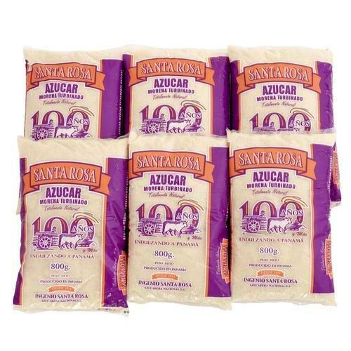 Santa Rosa Brown Sugar 6 units/800 g