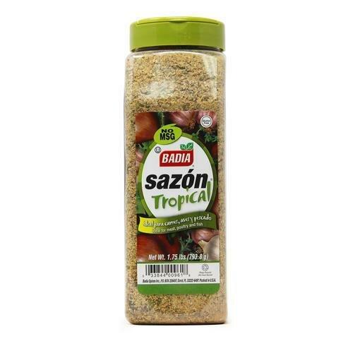 Badia Sazon Tropical Green 28 oz/ 794 g