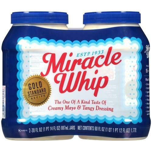 Miracle Whip 2 pk/ 30 oz