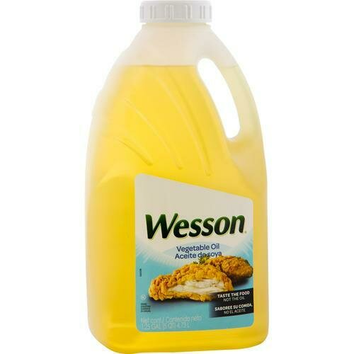 Wesson Vegetable Oil 1.25 Gallon