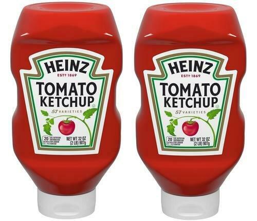 Heinz Ketchup 2pk/32 oz