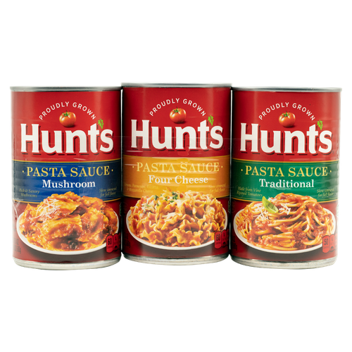 Hunt's Assort Sauces 3 units/680g