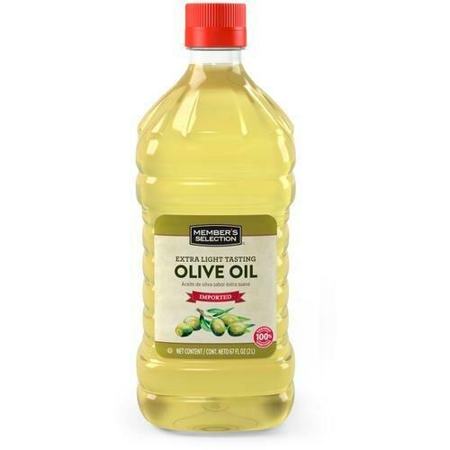 Member's Selection Extra Light Tasting Olive Oil 2 L / 67 fl oz