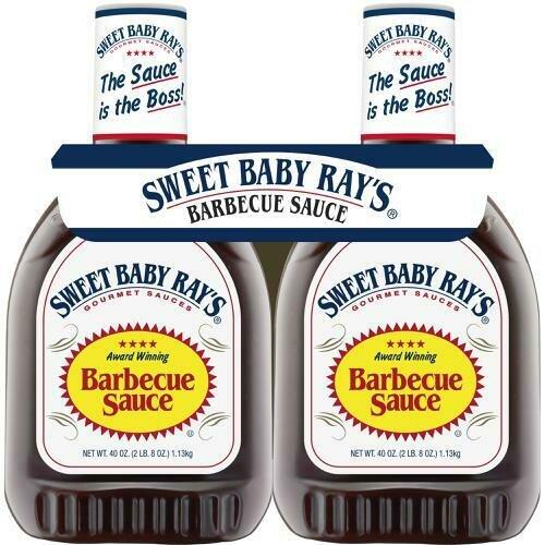 Sweet Baby Ray's BBQ Sauce 2 pk/ 40 oz