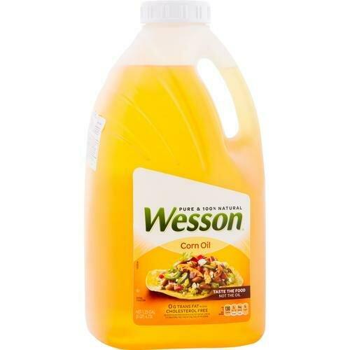 Wesson Corn Oil 4.73 lt/ 4732 ml