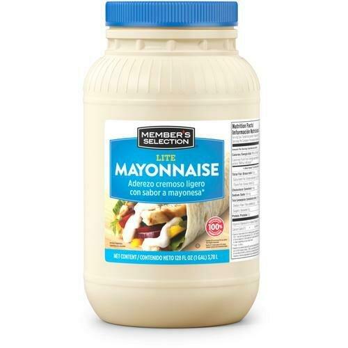 Member's Selection Lite Mayonnaise 3.78 L / 1 Gallon