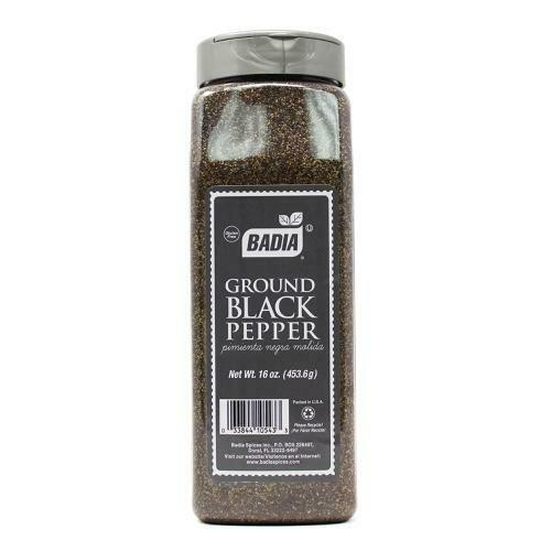Badia Ground Black Pepper 16 oz/ 454 g