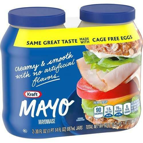 Kraft Mayonnaise 2 pk/30 oz