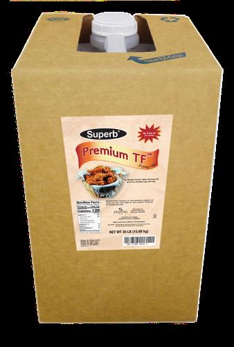 Superb Premium Frying Oil 35 lb (4.57 gal)