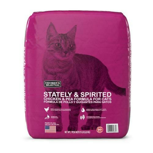 Member's Selection Stately & Spirited Chicken & Pea Formula for Cats 6.8 kg / 15 lb