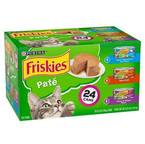 Friskies Buffet Cat Food 24 Units / 156 g