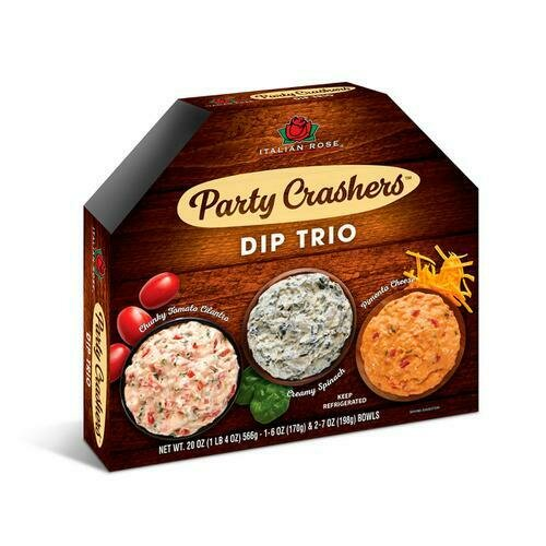 Italian Rose Bruschetta Dips Trio, 3 Pack