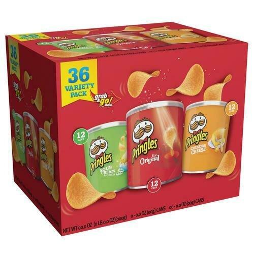 Pringles Variety 36 pk- 1.37 oz/ 567 g