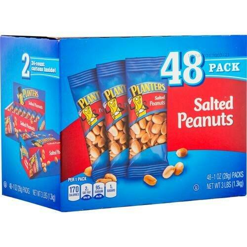 Planters Salted Peanuts 48 pk - 1 oz/ 28 g