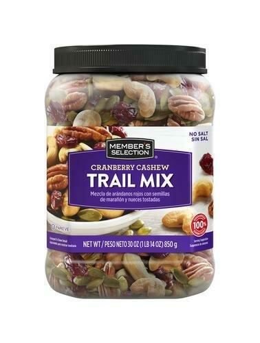 Member's Selection Cranberry Cashew Trail Mix 850 g / 1 lb 14 oz