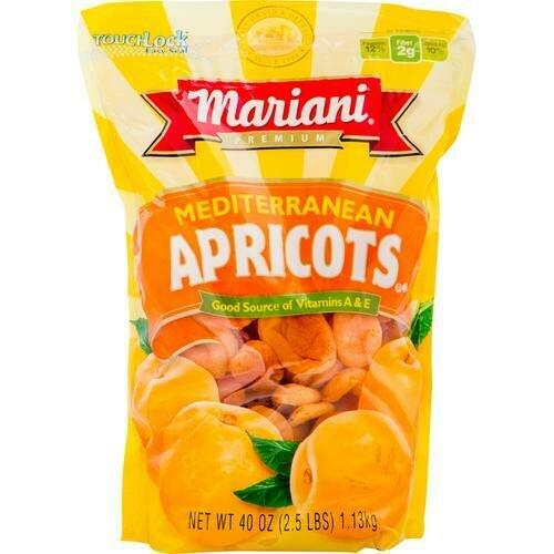 Dried Apricots- 40 oz/ 1.13 kg