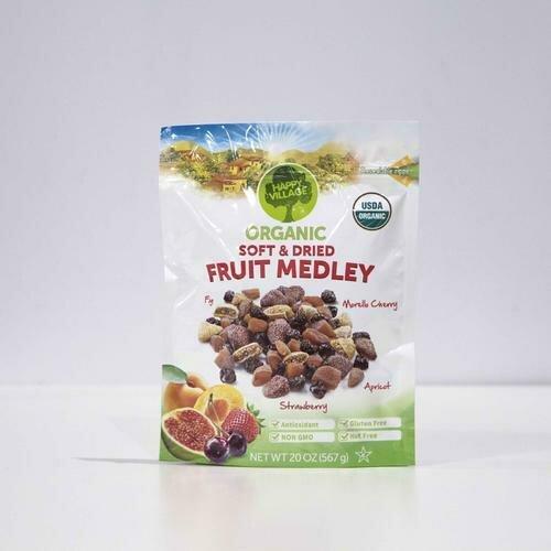 Happy Village Organic Dried Fruit 20 oz
