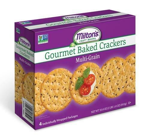 Milton's Multi-Grain Crackers 4 pk/8.3 oz