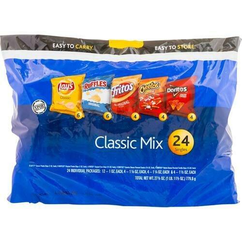 Frito Lay Variety Chips 24 Pack