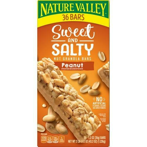 Nature Valley Sweet & Salty Peanut Bar 36 pk/1.2 oz