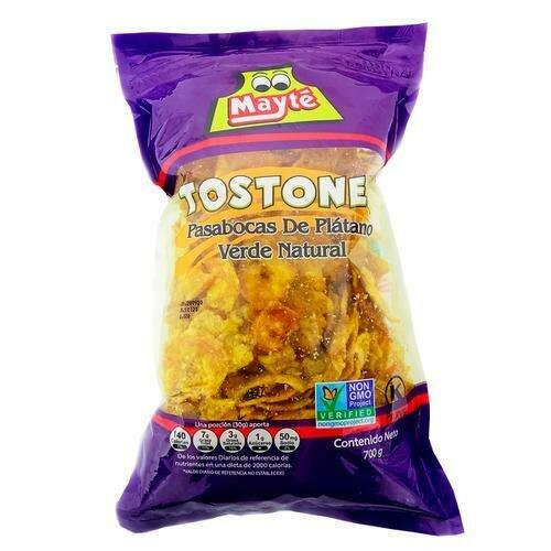 Mayté Tostones Green Plantain Snacks 700 g/24.6 oz