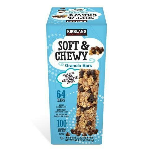 Kirkland Signature Soft & Chewy Bar 64 pk- 0.85 oz/ 24 g
