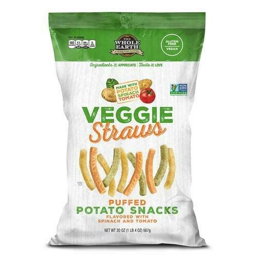 Whole Earth Veggie Straws 20 oz/ 567 g