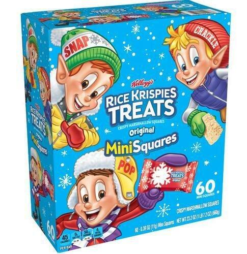 Holiday Rice Krispies Treats Mini Squares 60 pk/0.39 oz