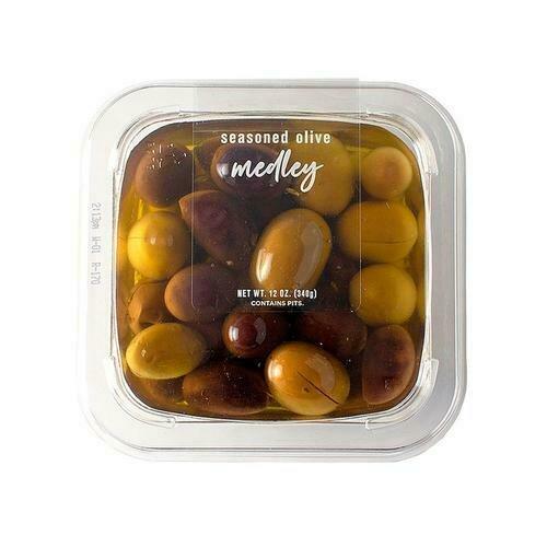 DeLallo Seasoned Olive Medley, 340 g / 12 oz