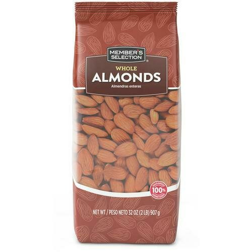 Member's Selection Whole Almonds 2 lb