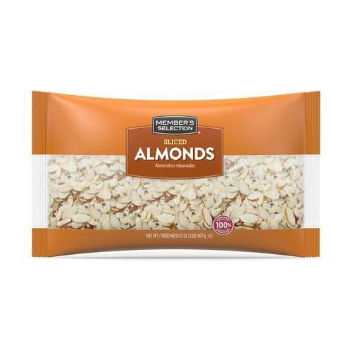 Member's Selection Sliced Almonds 907 g / 2 lb