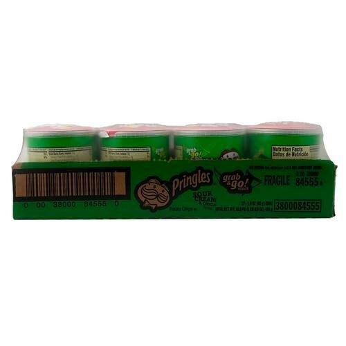 Pringles Sour Cream & Onion 12 ct- 1.41 oz/40 g