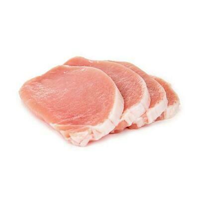 Member's Selection Frozen Boneless Pork Loin Steak, Tray